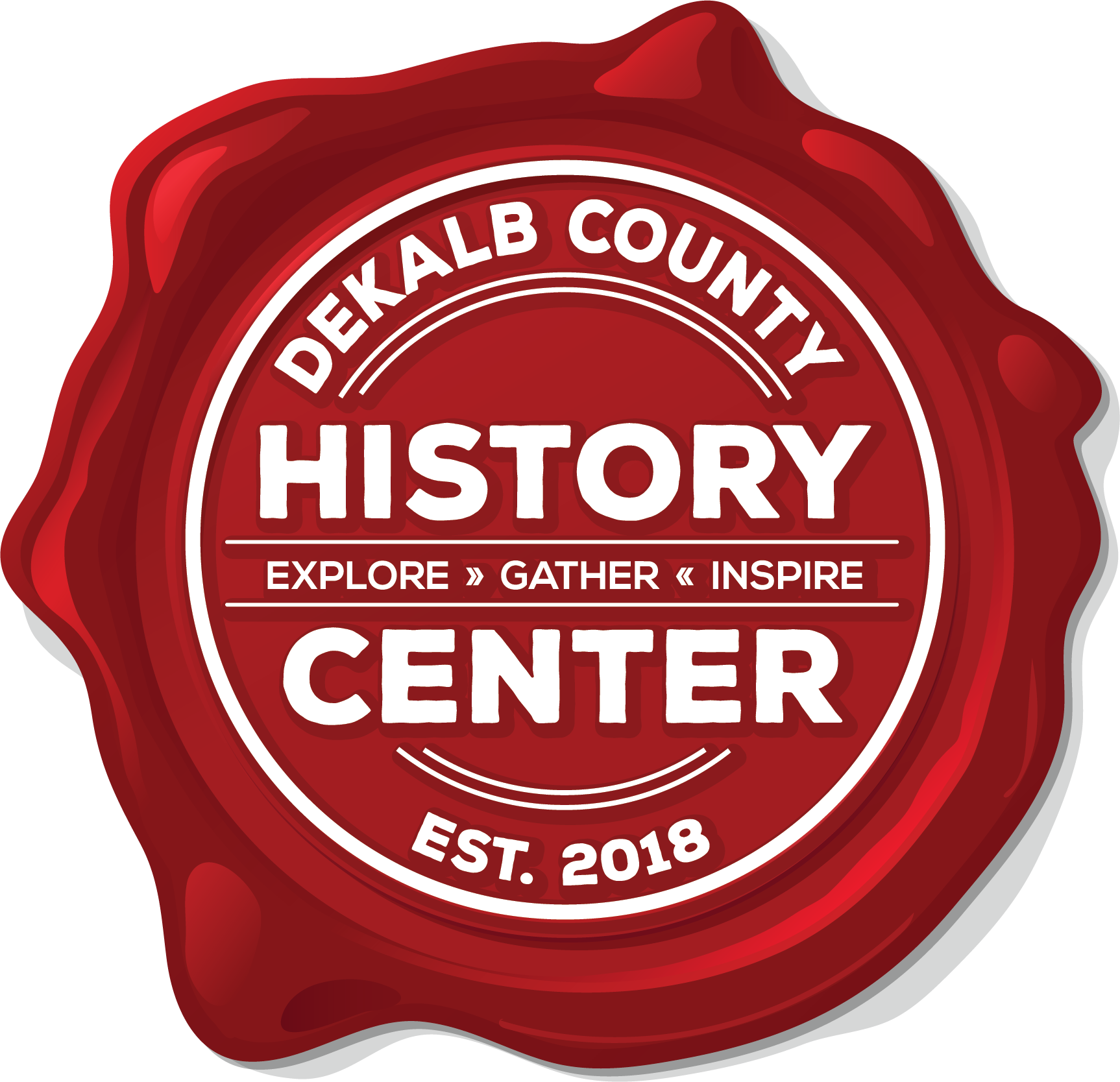 DeKalb County History Center seal logo