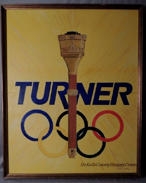 Turner Brass Olympic Torch Ad