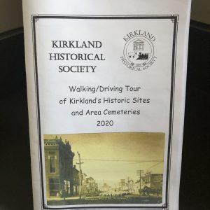 Kirkland Driving Tour Booklet